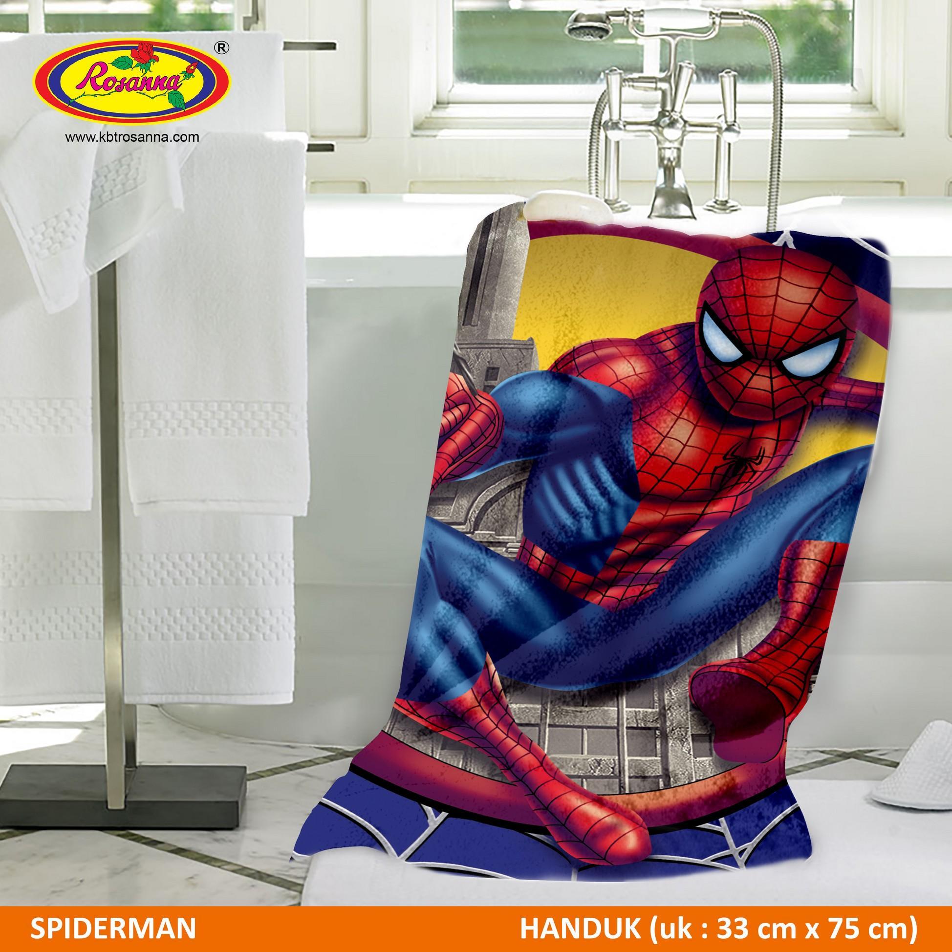 Handuk Spiderman Rosanna Printing 33x75