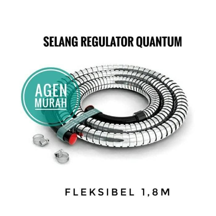 HOT SPESIAL!!! Selang Kompor Gas Quantum Elpiji QPH-012 SNI Fleksibel - pNRqvl