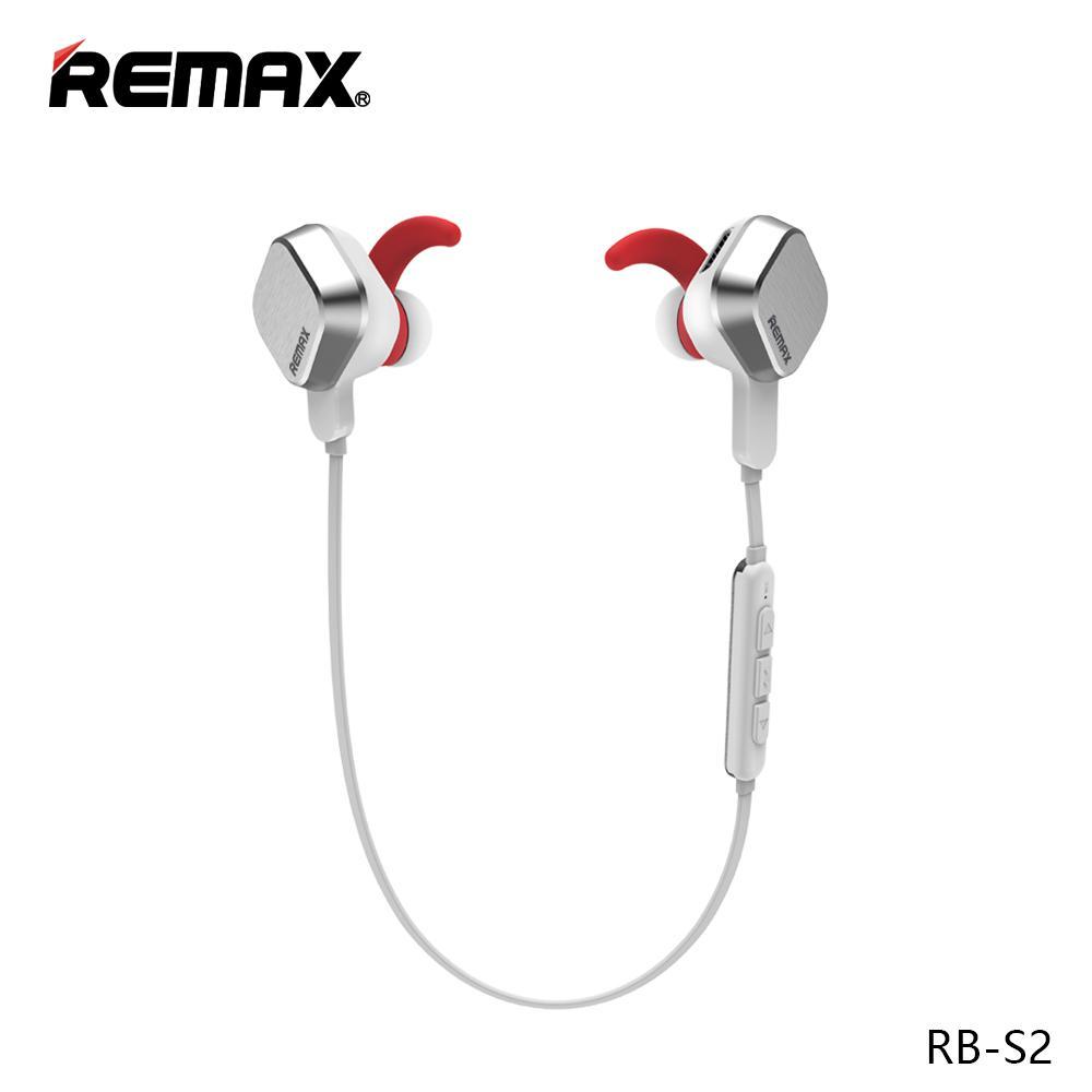 REMAX BT4.1 Sporty Bluetooth Earphone / Headset RB-S2 untuk Samsung S8, Xiaomi 4x, Mi 8, Note 8, Iphone X, Iphone 8, Oppo F5, Vivo V9