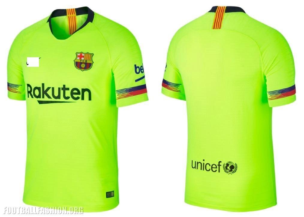 JAFA Jersey bola Barcelona away musim 2018/19 new style