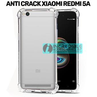 Penjualan Case Anti Shock / Anti Crack Elegant Softcase for Xiaomi Redmi 5A - White Clear