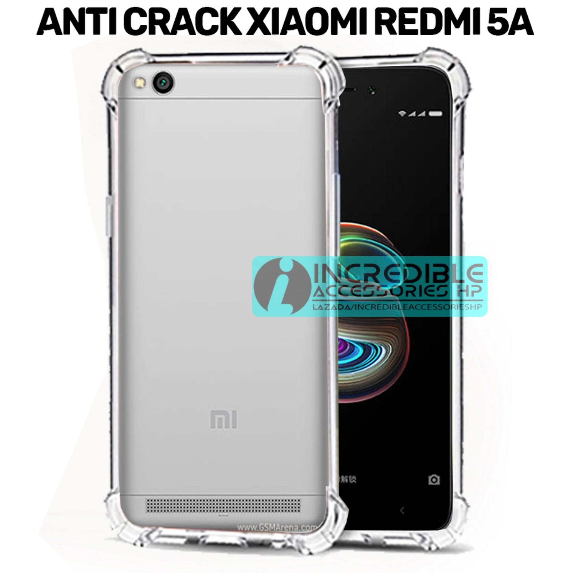 Case Anti Shock / Anti Crack Elegant Softcase  for Xiaomi Redmi 5A - White Clear