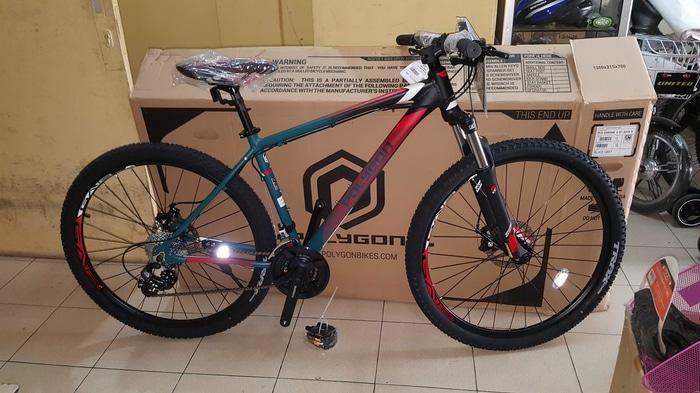 Sepeda 27.5 MTB POLYGON CASCADE 4 Terbaru OPERAN GIGI 8 SPEED