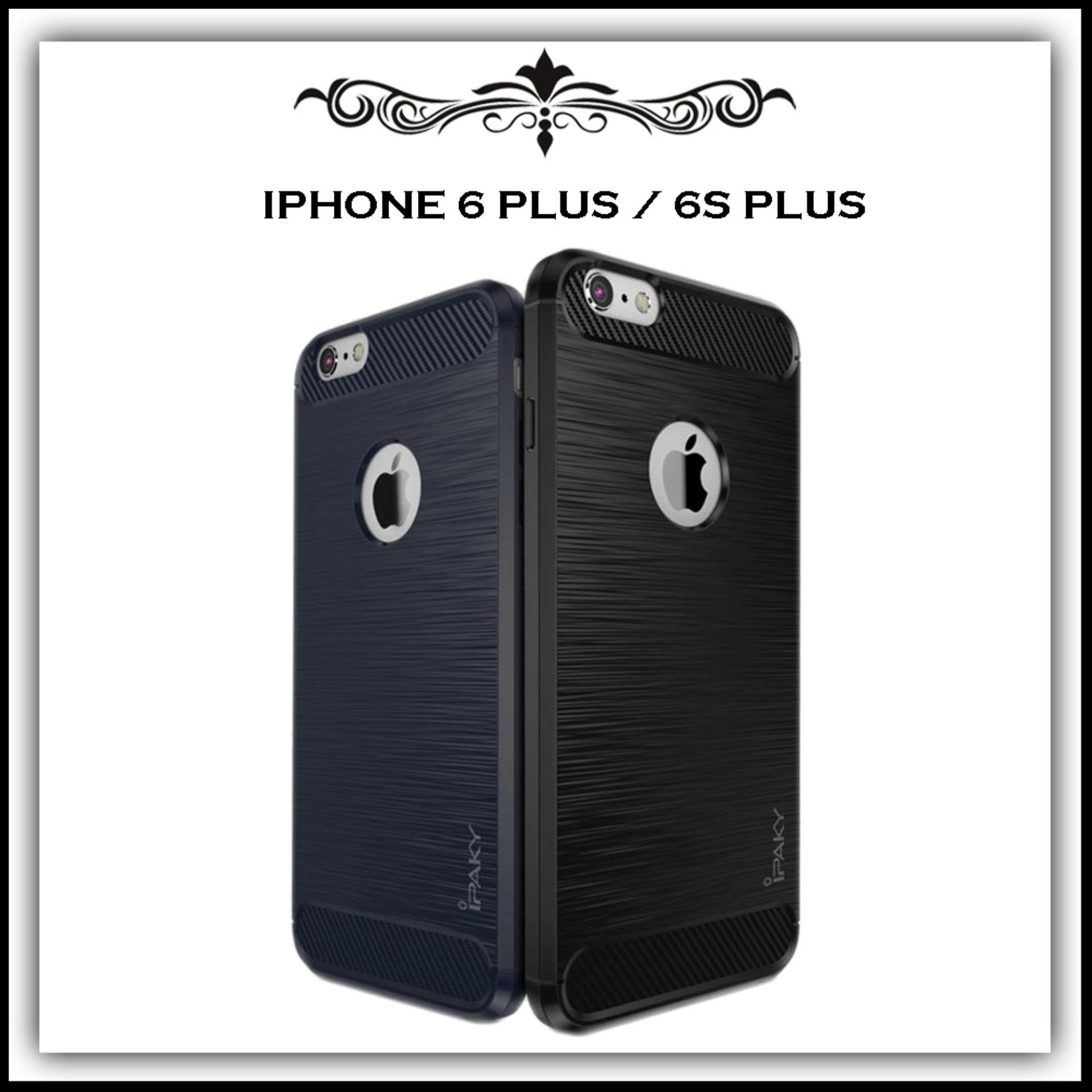 Mushroom Case Ipaky Carbon Fiber Shockproof Hybrid Elegant Case for Iphone 6 Plus / 6s Plus