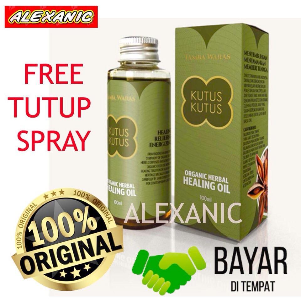 Minyak Kutus Kutus 100 ml - Original Bali