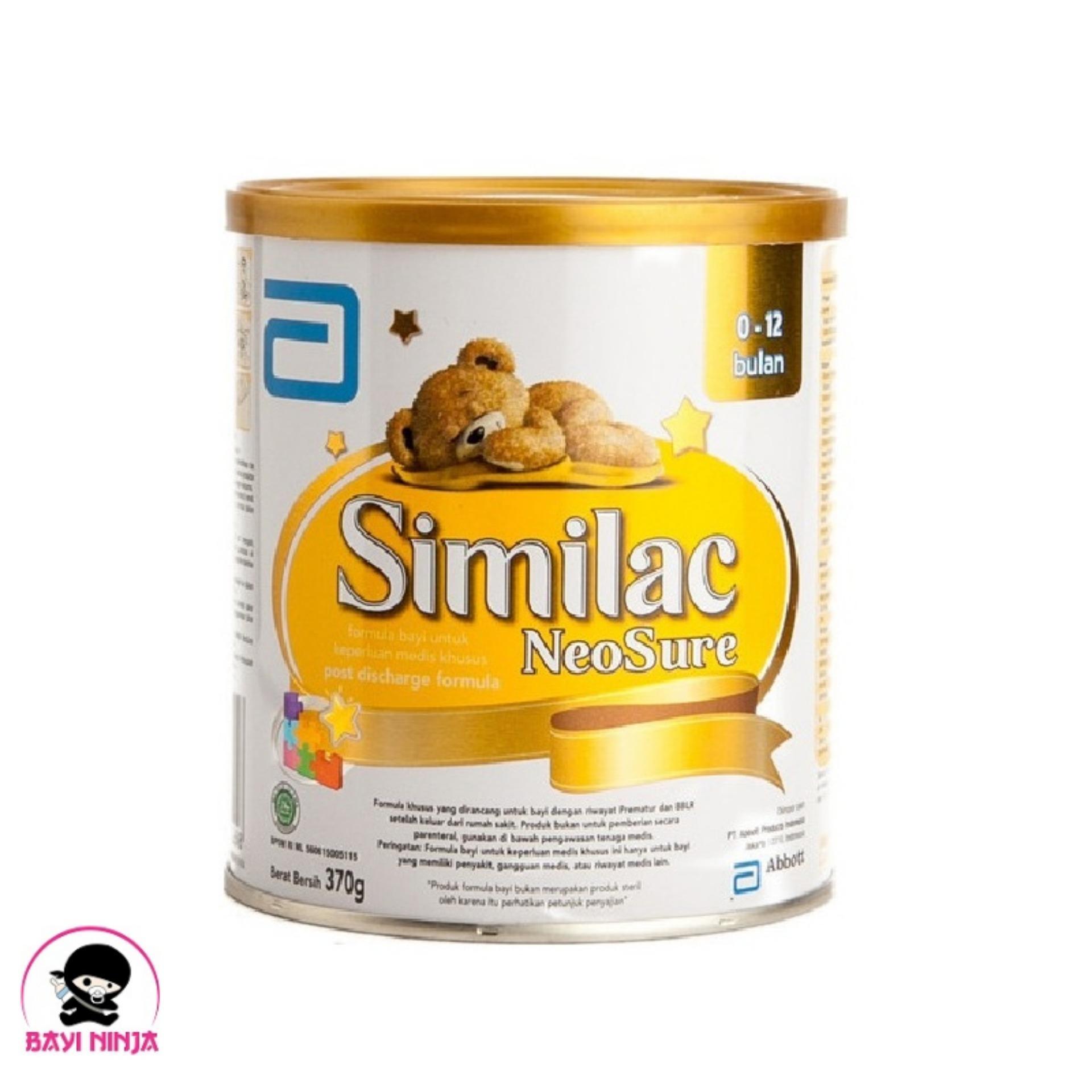 Jual Hot Deal Nestle Nutren Junior Susu Tin 800gr Promo Promo Source · SIMILAC Neosure 0 12 bulan 370g 370 g