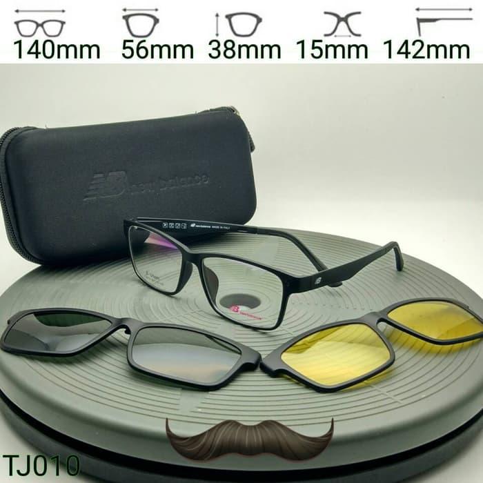 Sedang Diskon!! Frame Kacamata Sunglasses New Balance Clip On Tj010 - ready stock