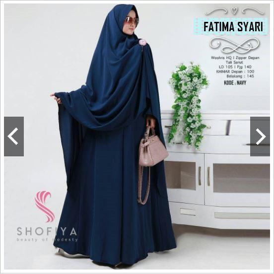 FATIMAH SYARI balotelli / BAJU MURAH / PUSAT GROSIR / TANAH ABANG / baju muslim PINK