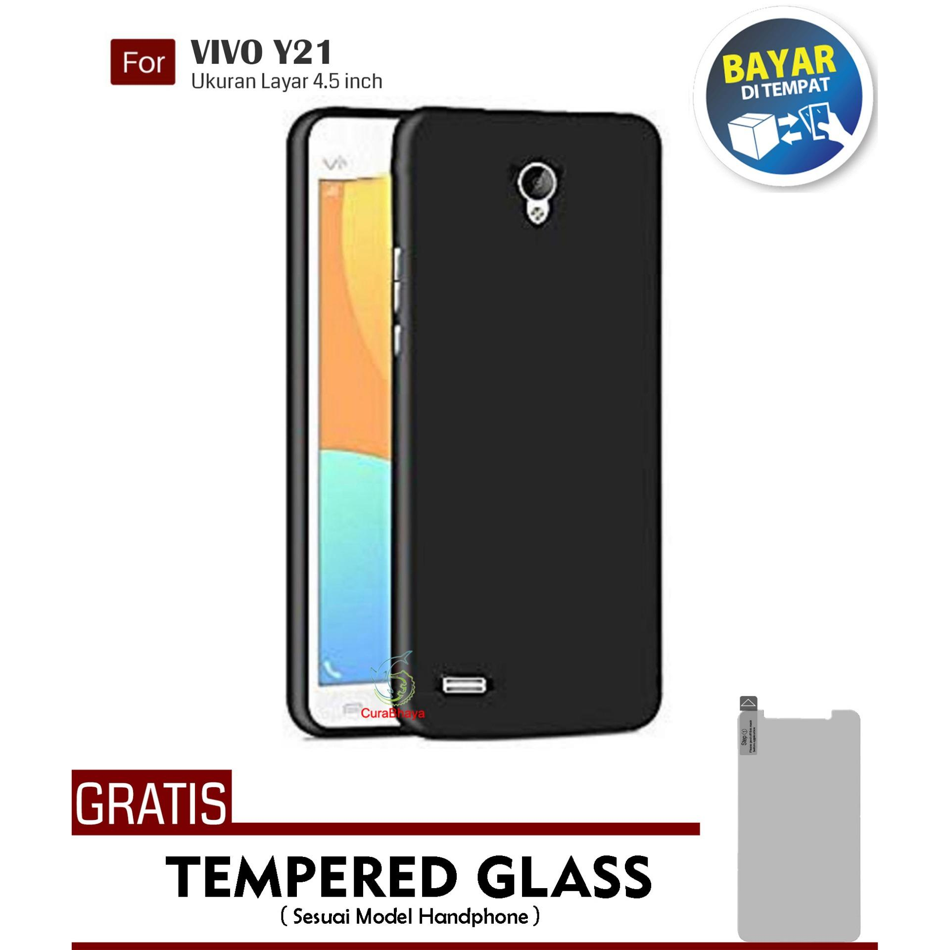 ... TEMPERED GLASS SCREEN PROTECTOR FREE IRING STAND . Source · MidNight Vivo Y21 / Y21L / Y21S / Y22 / Y22L / Y22s | Slim Case