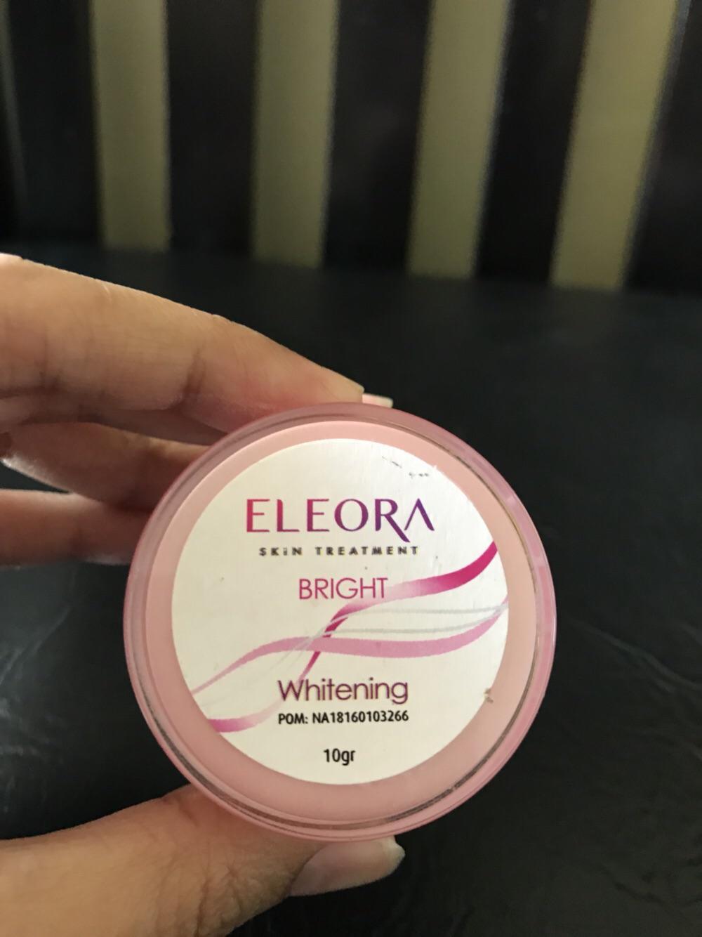 Eleora Cream Whitening Bright (cream malam)