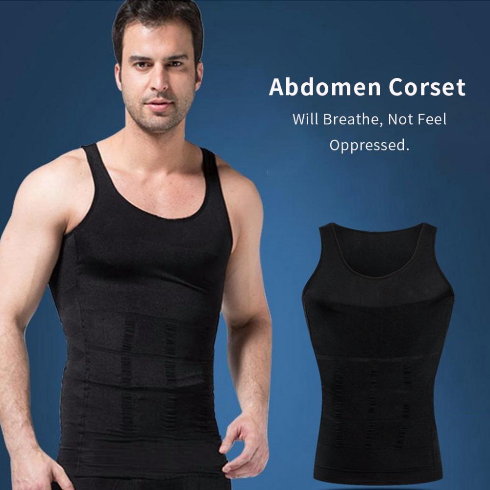 Paling Laku Slim N Lift For Men / Slim Lift Body Shaping Artis Pria / Pakaian Dalam / Singlet Kesehatan Pria