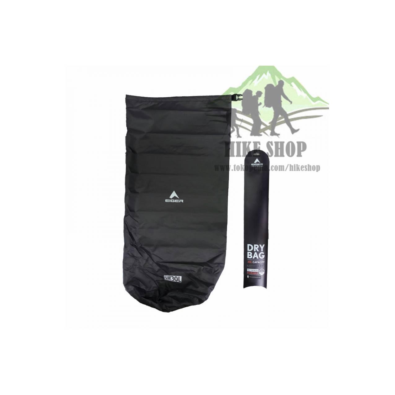 DRY BAG EIGER 30L ART 910003452 003 OLI - WATERPROOF