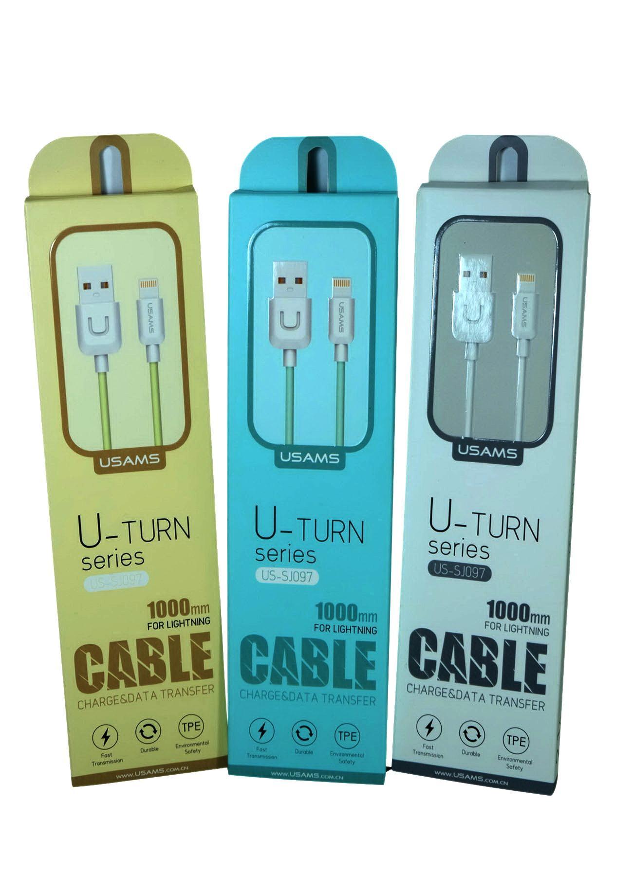 Kabel iPhone 5,6,7, 7 Plus dan 8 Plus Compatible semua iPhone
