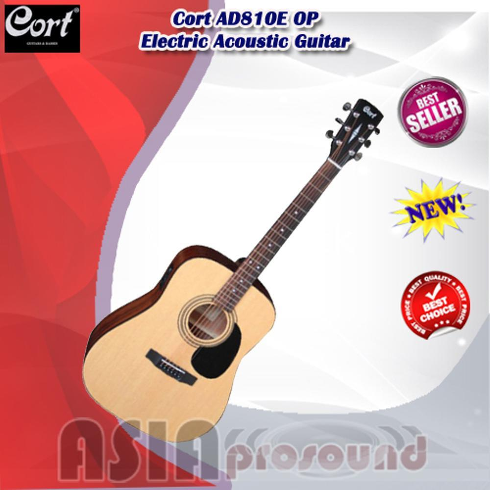 Gitar Akustik Elektrik Cort AD810E OP - AD 810E OP - AD-810E OP