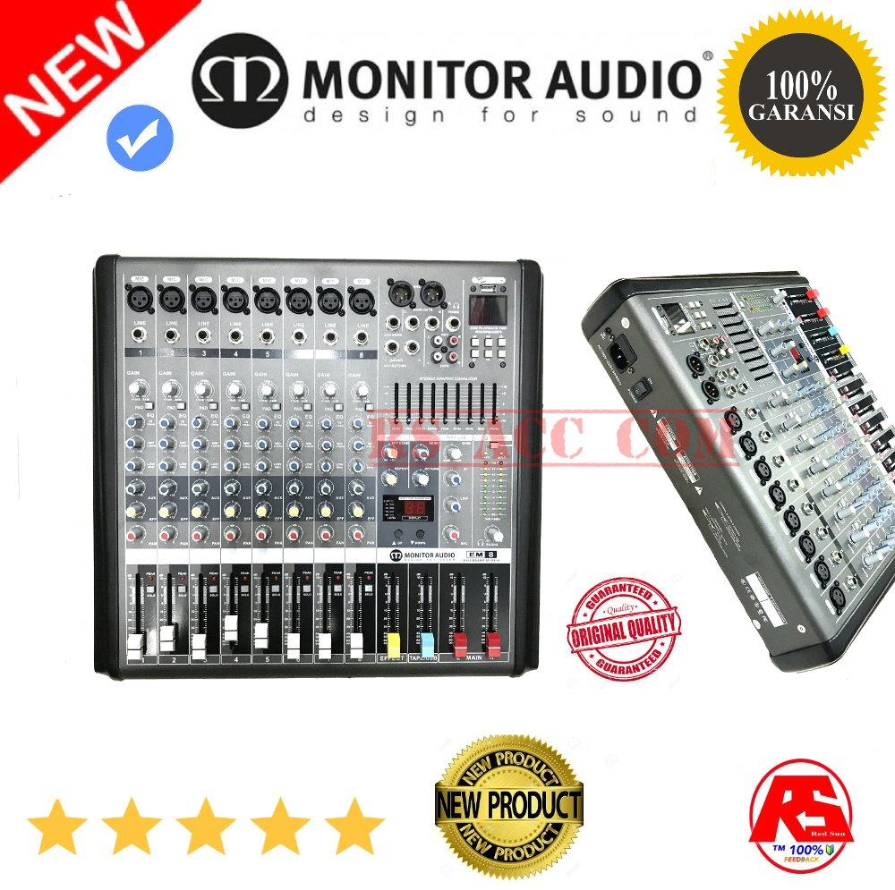 Buy Sell Cheapest Original Mixer Premium Best Quality Product 12 Channel Audio Monitor 8 Em8