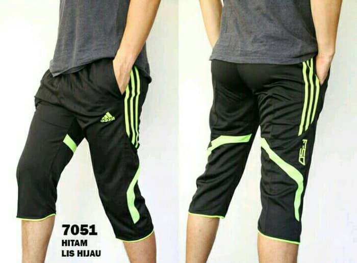 diskon10% New ! Training Pants Adidas Black Runner F50 - ready stock