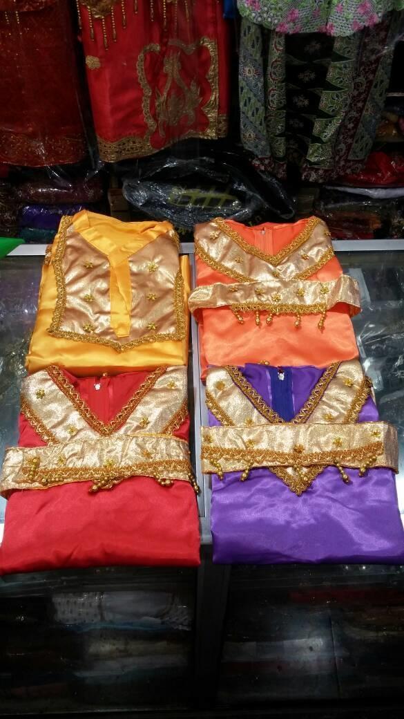 Baju Adat Padang Anak Ukuran XXL (SMP)