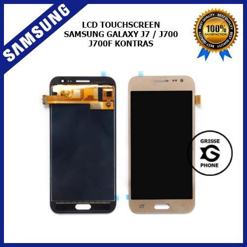 LCD Touchscreen Samsung Galaxy J7 / J700 / J700F Kontras