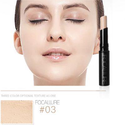 Focallure FA16 Bedak Rias Wajah Bronzer Shimmer Stabilo Wajah Bedak Padat Kontur Palet Make Up Kosmetik