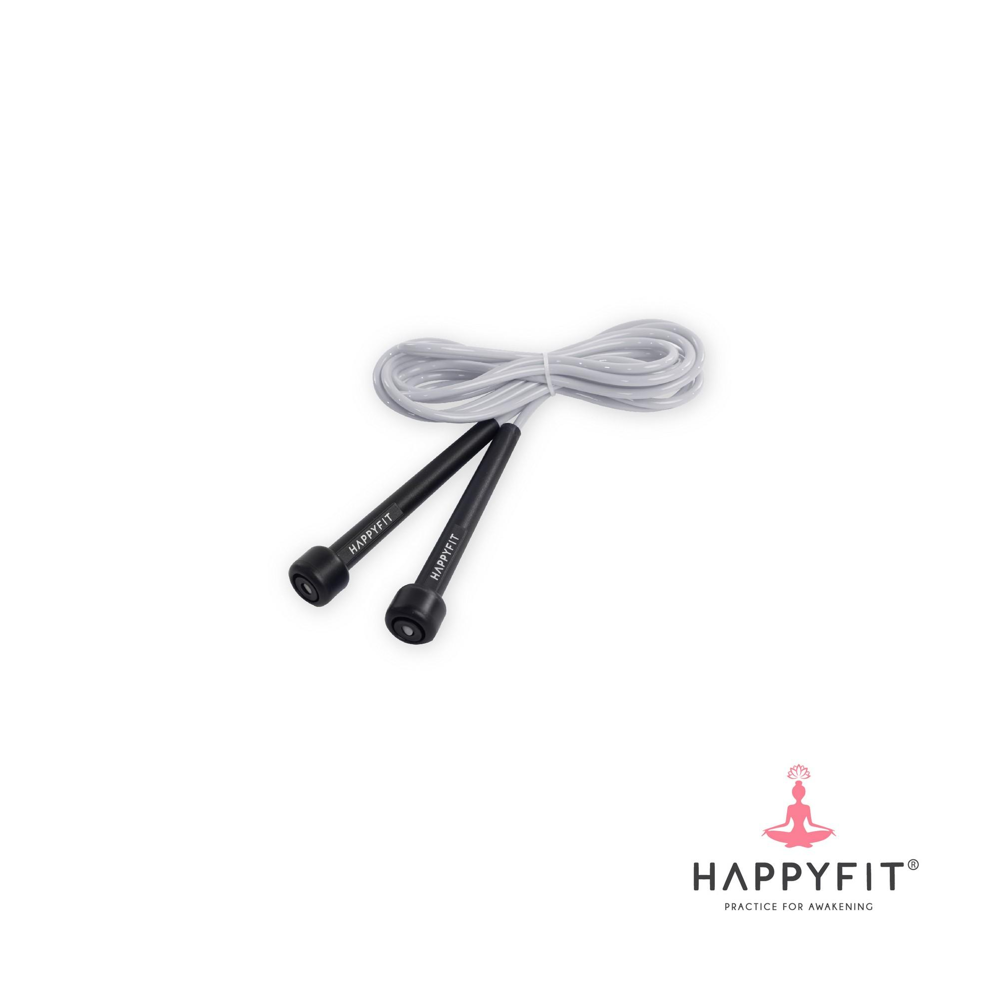 HAPPYFIT JUMP ROPE / LOMPAT TALI - Grey