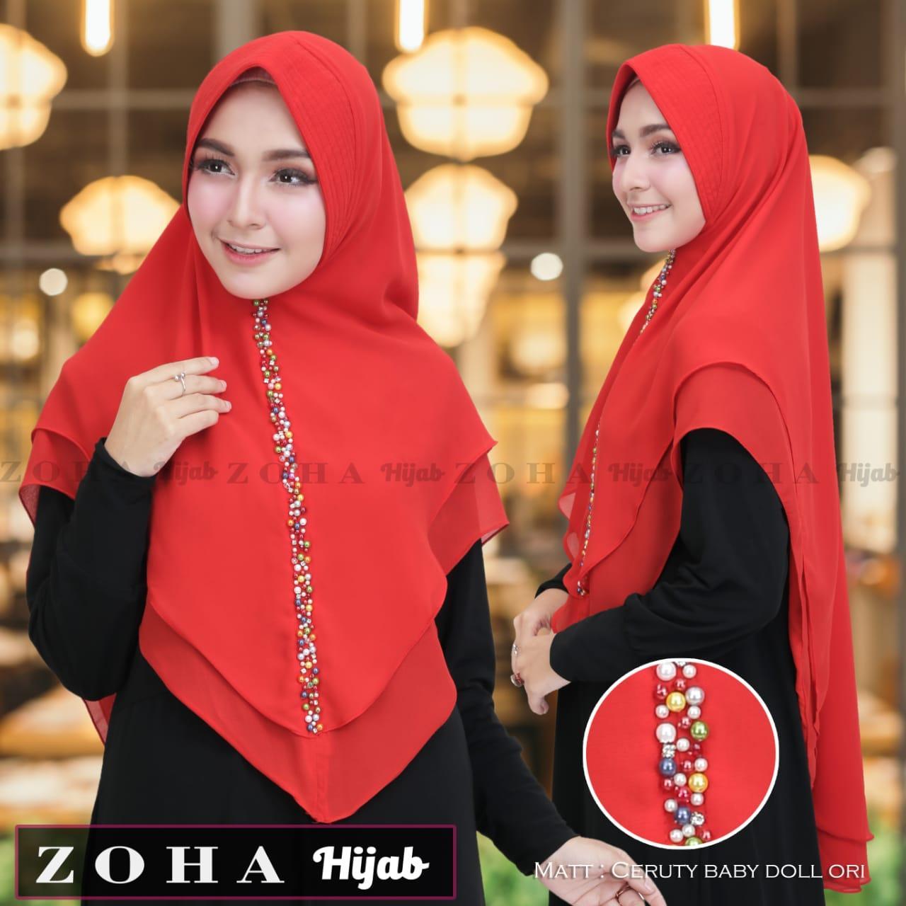 TERLARIS TERMURAH !!!JILBAB INSTAN / KERUDUNG INSTAN / BERGO INSTAN BY ZOYA hijab