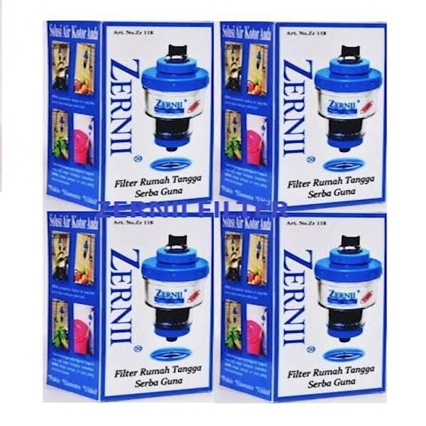 ZERNII WATER FILTER / PENYARING AIR EKONOMIS 4PCS - Biru