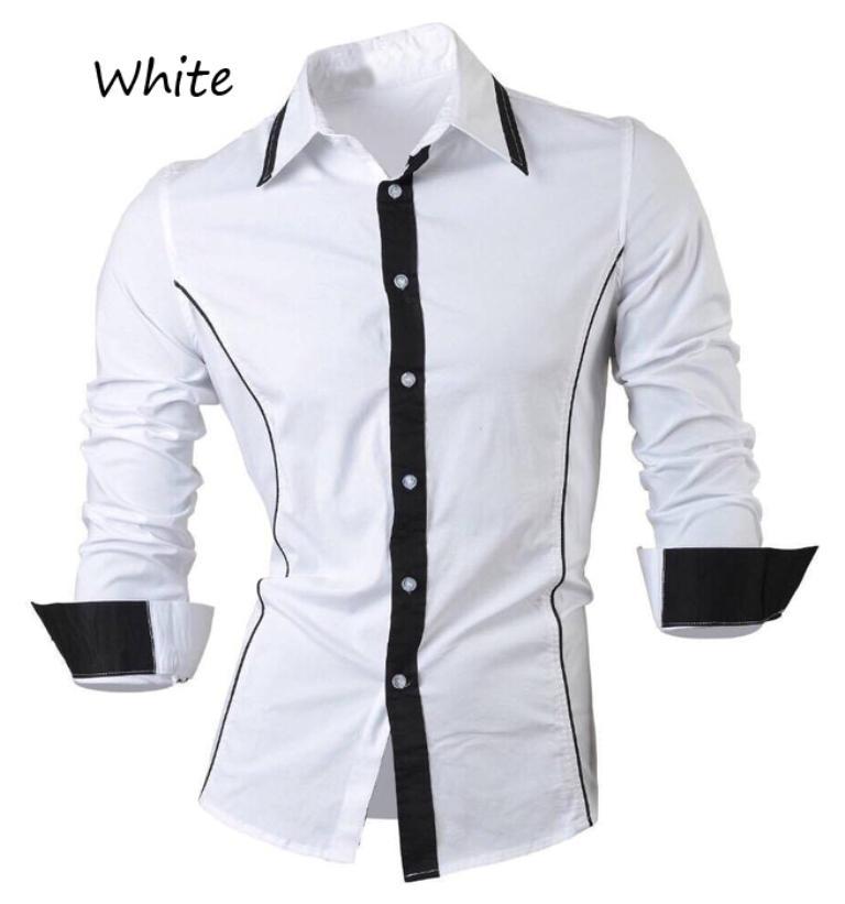 Azure Hem ALEKSA Baju Kerja Formal Pria Lengan Panjang Atasan Kemeja Polos Slimfit Hitam Putih Maroon