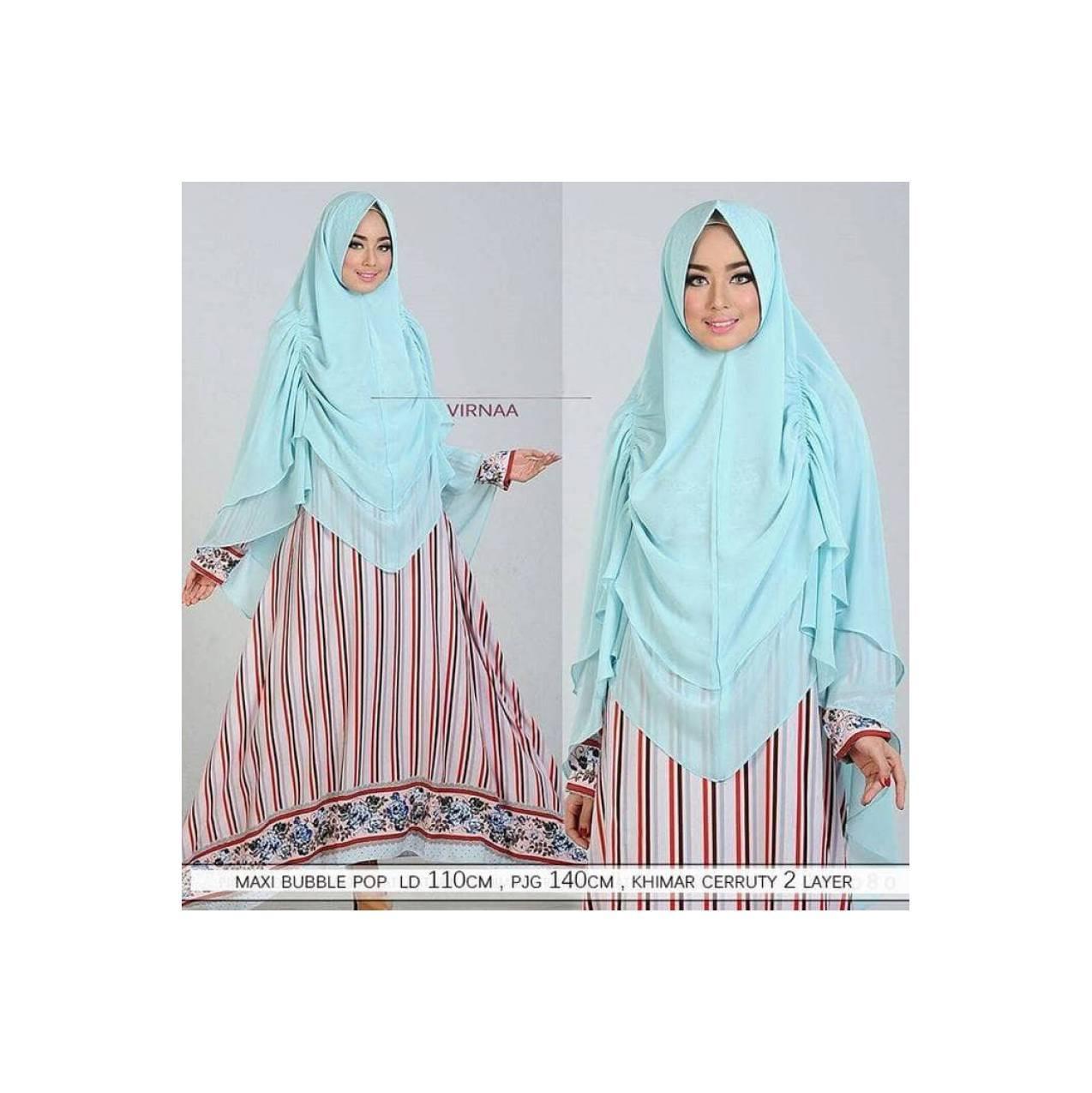 gamis syari maxi baju pesta muslim hijab syar'i syari'i xxl xl jumbo