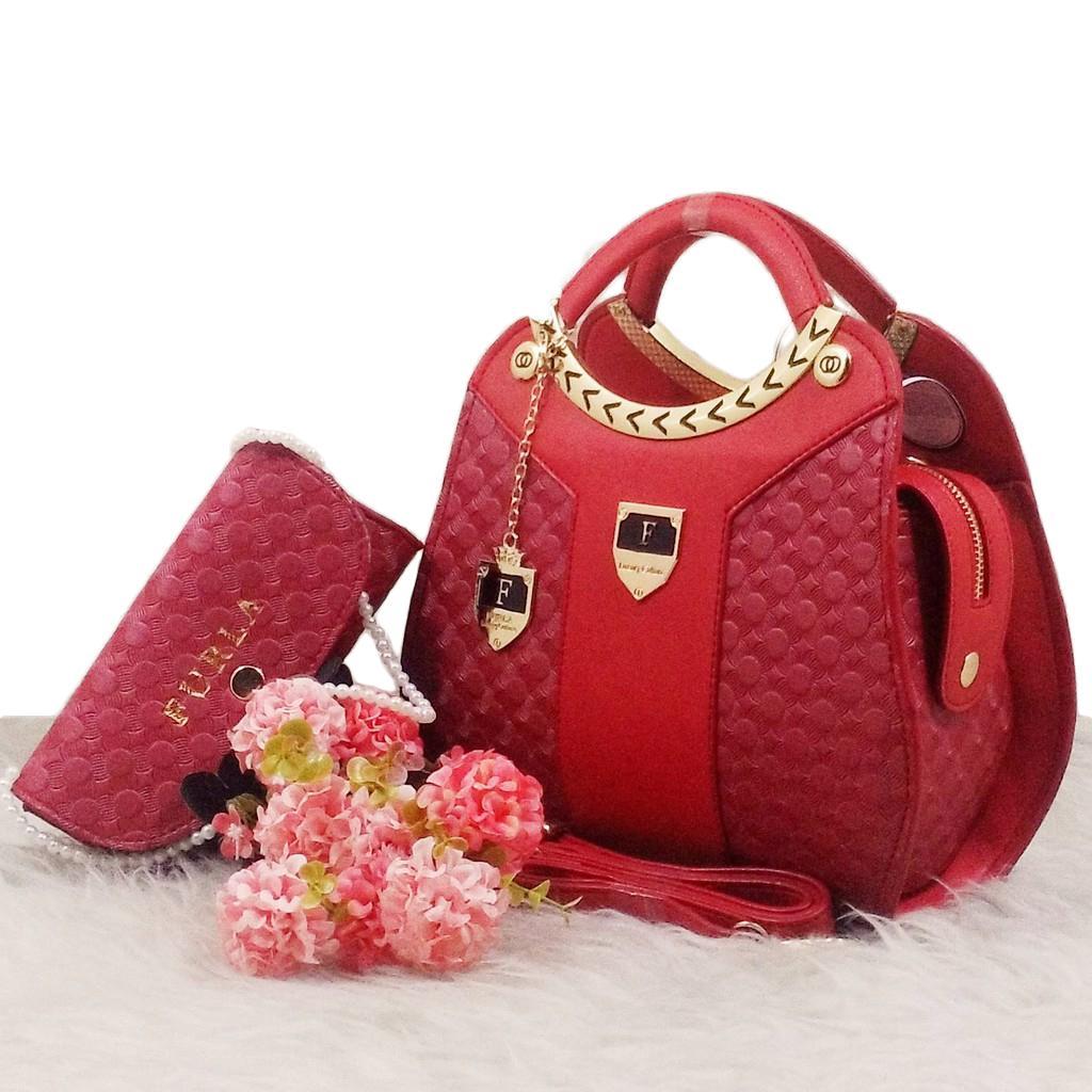 Women Bags Tas Branded Wanita  Tangan Ck 00773 Cantik Hand Bag Import 756 Batam