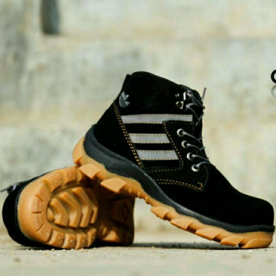 Sepatu Project  Pria Kerja Santai Hikking taveling Gunung Ujung besi / Sepatu Delta Tinnggi /sepatu kickers/sepatu caterpilar/sepatu outdoor/sepatu biker/sepatu bengkel/sepatu murah