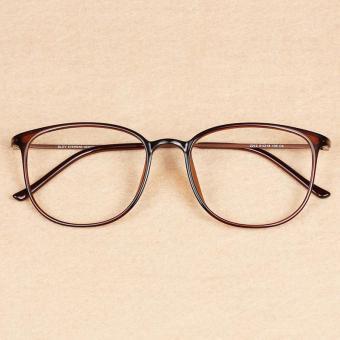 Harga preferensial Ringan tr90 bingkai kacamata Model Wanita Gaya Korea pasang  Retro wajah bulat Sastra kaca 7277f2b237