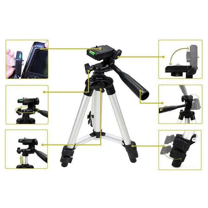 Best Seller!! Tripod Mini Profesional Untuk Kamera Digital U002F Gopro U002F Xiaomi Yi - ready stock