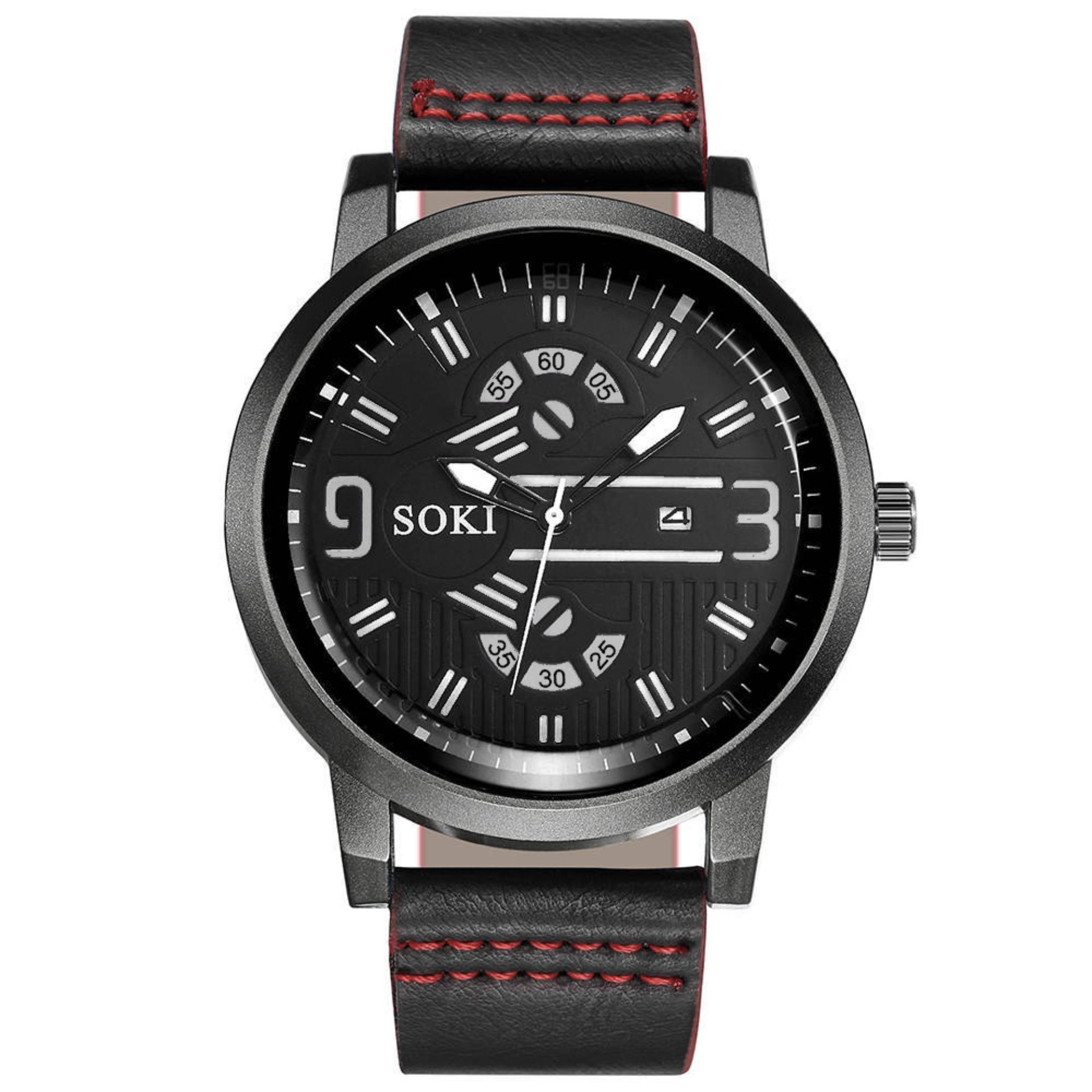 SOKI NAUTILUS - Jam tangan pria arloji pria sporty men's watch - FREE GIFT BOX