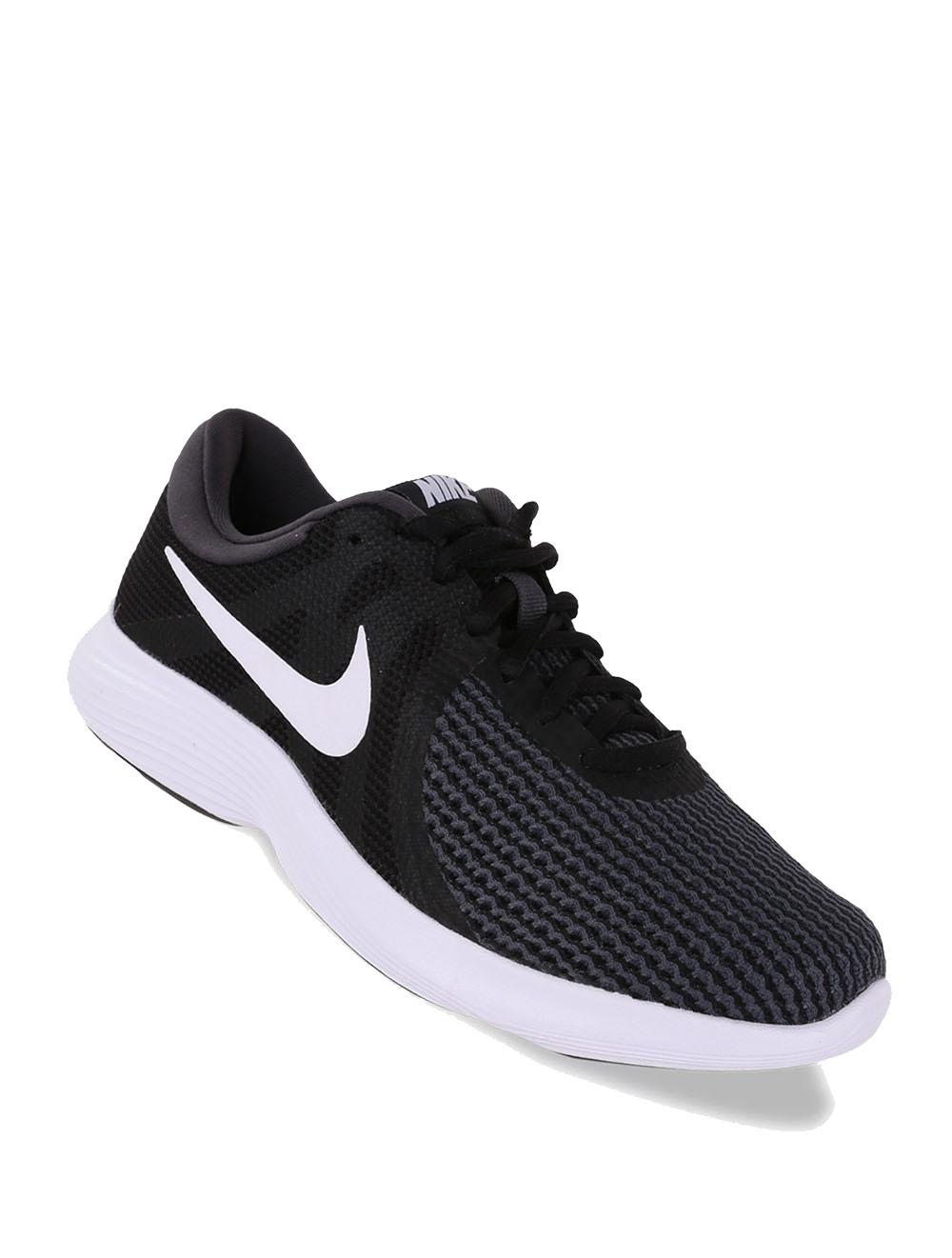 NIKE Revolution 4 - Sepatu Pria - Hitam