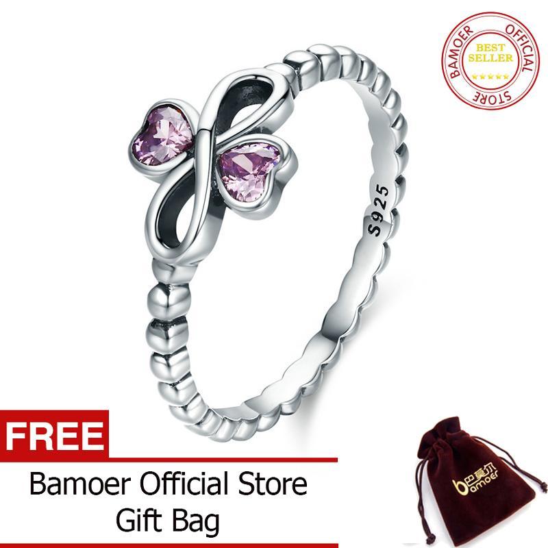 Rp 71.000. Bamoer Gratis Shpping Romantis 100% 925 Perak Berkilau Infinity ...