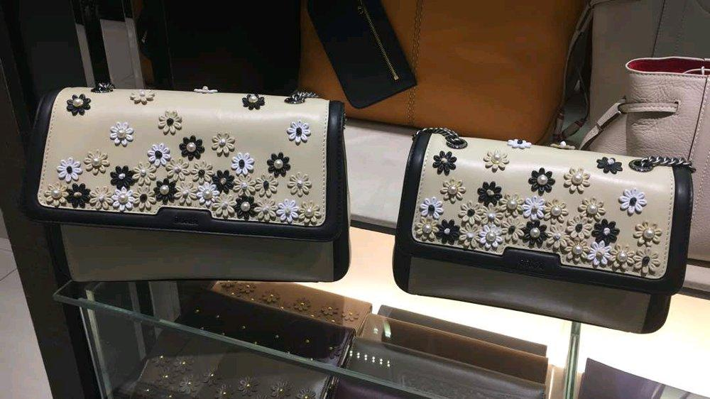 Bonia Original Leather Sling Bag Blossom