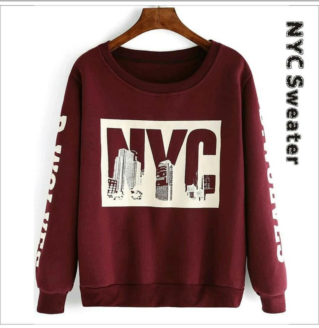 Sweater Wanita NYC Sweater Original