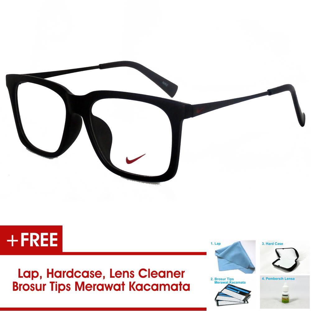 Frame Kacamata Pria Wanita Korea Vintage 7875 Hitam Doff Bisa Dipasang Lensa Minus Di Optik Terdekat