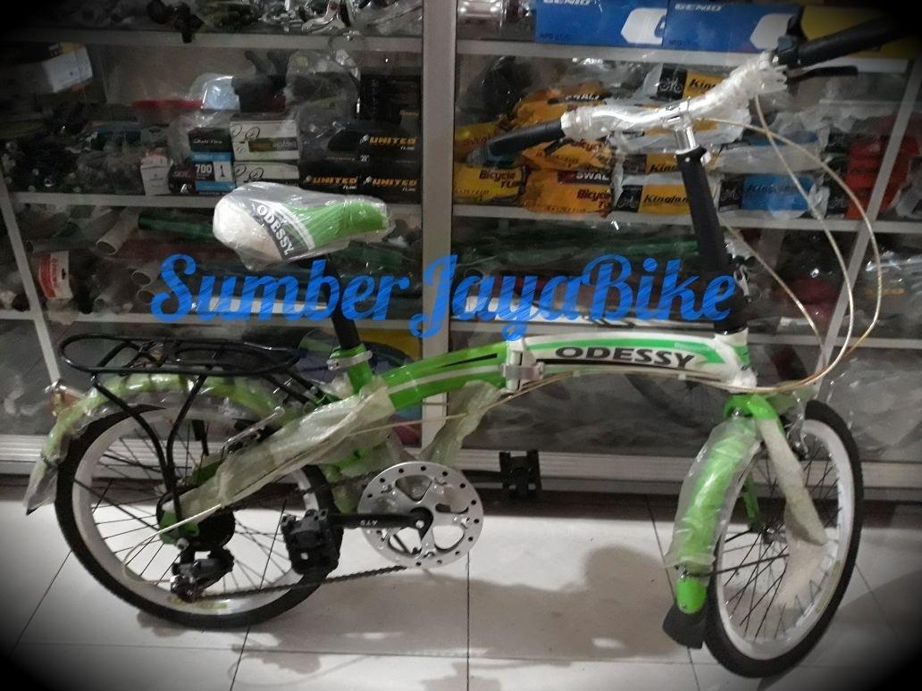 sepeda anak lipat 20
