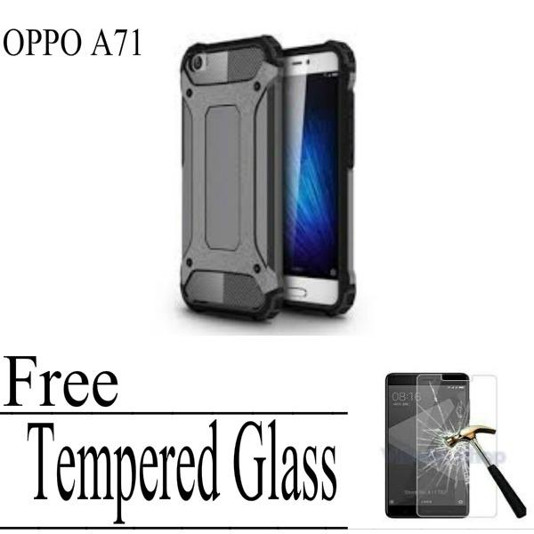 Case For OPPO A71 - Black + FREE Tempered Glass BeningIDR28900. Rp .