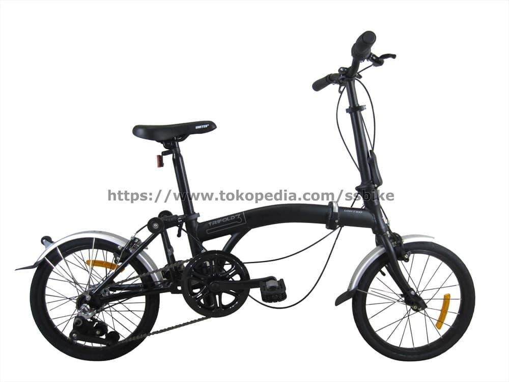 Sepeda Lipat United Trifold 3 Speed 16″