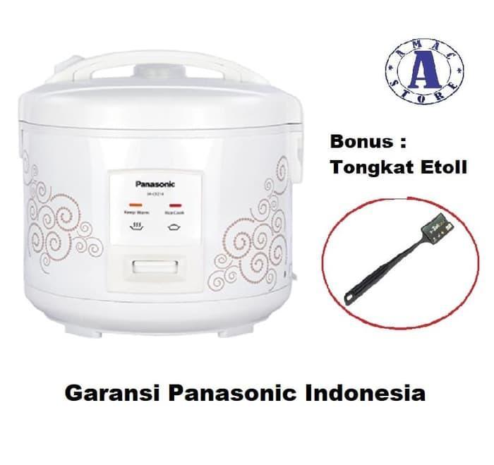 Panasonic SR-CEZ18SPSR Rice Cooker - Garansi Resmi