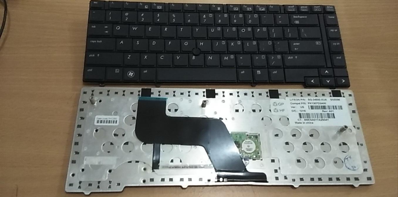 Keyboard Laptop Hp Elitebook 8440p 2018 Notebook 8440 8440w Hitam Series Pk1307d3a00 Pointer