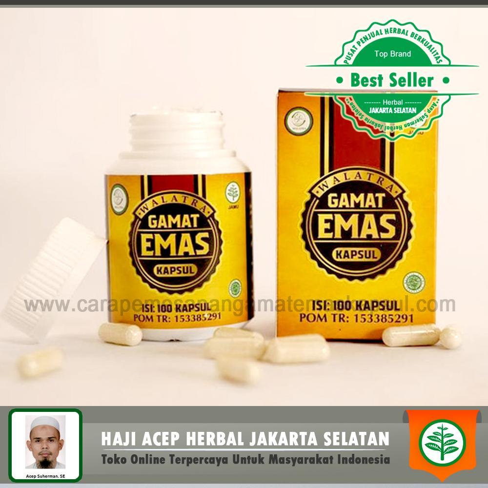 Obat Hepatitis B Dan C Herbal - HbsAg Positip - Penyakit Kuning - Liver - Walatra Gamat Emas Kapsul Original Asli Herbal Jakarta Selatan