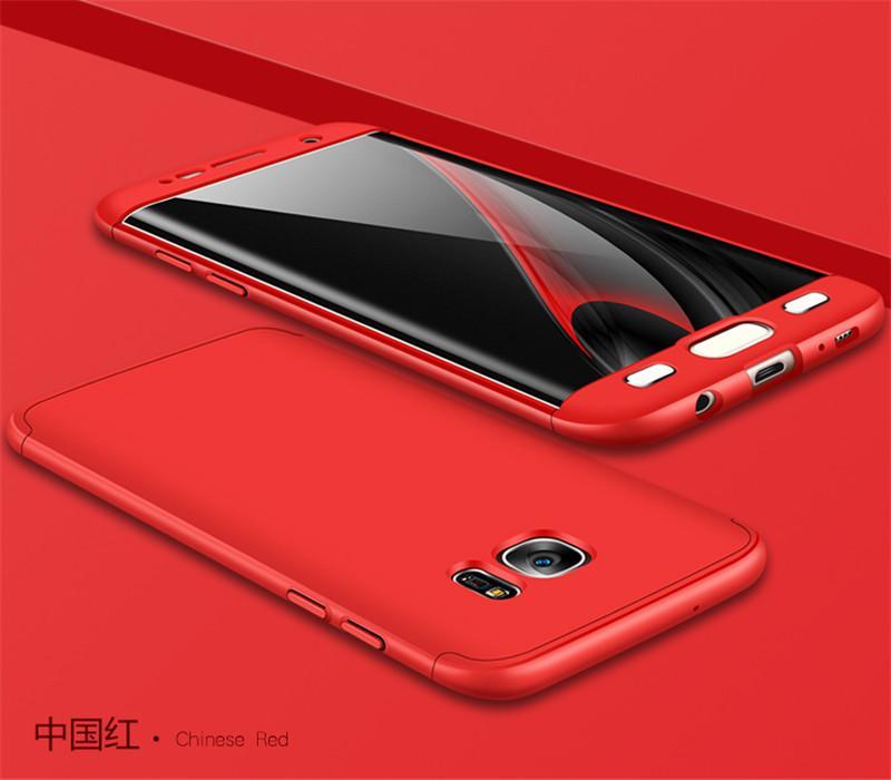 GKK Original Case 360 Samsung Galaxy S7 Edge / Samsung S7 EDGE Full Covered Ultraslim anti Finger Print
