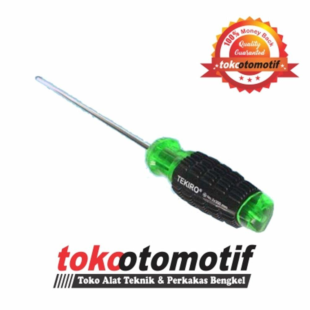 Buy Sell Cheapest Tekiro Treker Rumah Best Quality Product Deals Obeng Go Thru Ph3 X 250 Mm 8 Handle Hijau Gagang Karet Ph2 250mm 6 Original
