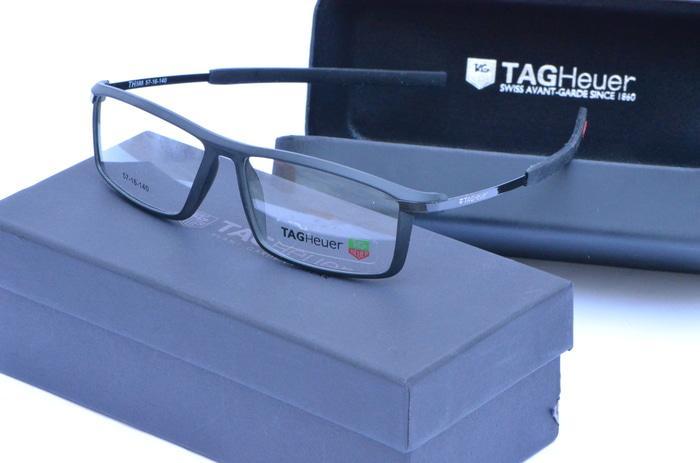 frame kacamata pria paket frame dan lensa minus / netral anti radiasi