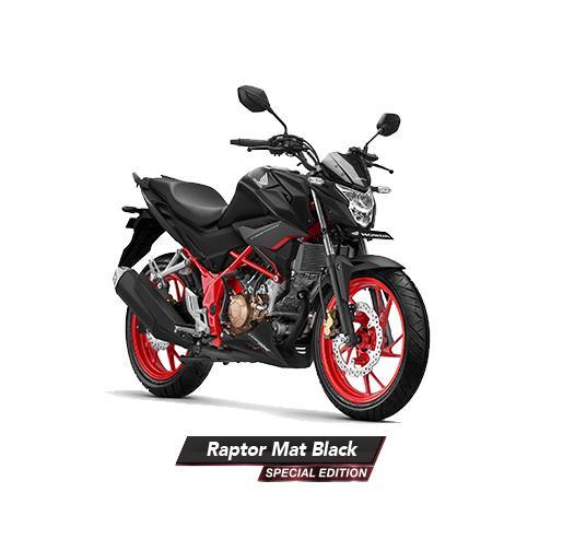 MOTOR HONDA CB150R HONDA RAPTOR MAT BLACK - SP EDITION JAKARTA