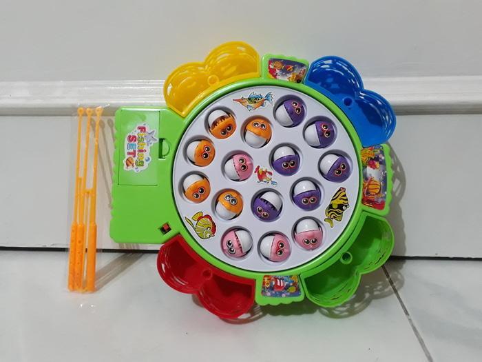 Harga Spesial!! Mainan Pancingan Memancing Ikan Fishing Game Dos Murah - ready stock