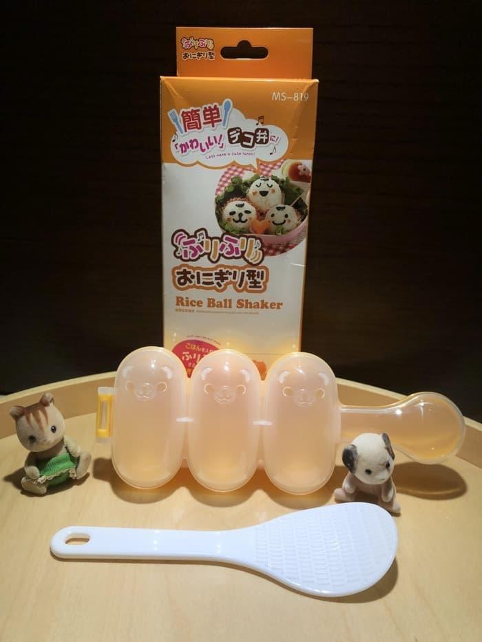 Goldstar bento cetakan nasi bekal anak sekolah rice